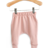 Bamboo Slim Harems in Blush