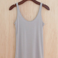 Crazy for Summer Tank, Gray