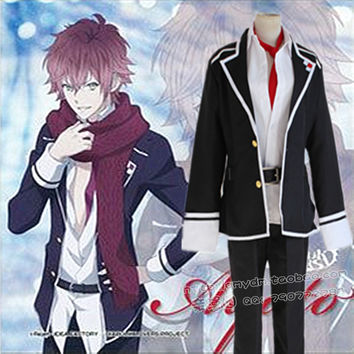 Anime Diabolik Lovers Cosplay Full Set Costumes Japan And South Korea School Uniforms Original Design Fine Workmanship