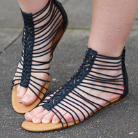 Caged Up Gladiators {Black}