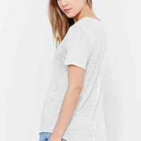 Chaser Short-Sleeve Shirttail Tee-