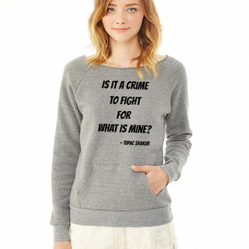 shakur ladies sweatshirt