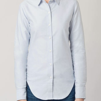 Classic Button Down Blue Oxford