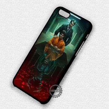 Painting Art Hannibal Mads Mikkelsen - iPhone 7 6 5 SE Cases & Covers