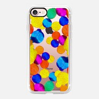 Casetify iPhone 7 Classic Grip Case - happy blobs by Marianna