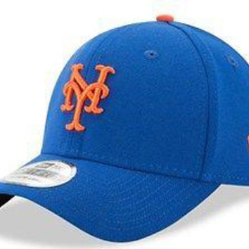 New York Mets New Era MLB 39THIRTY Team Classic Stretch Flex Cap Hat 3930