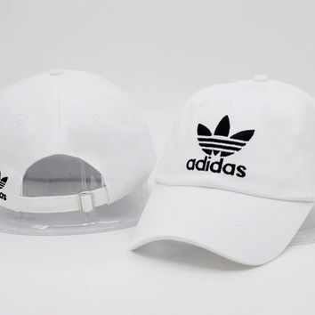 Cool White Cotton Baseball Golf Sports Cap Hats
