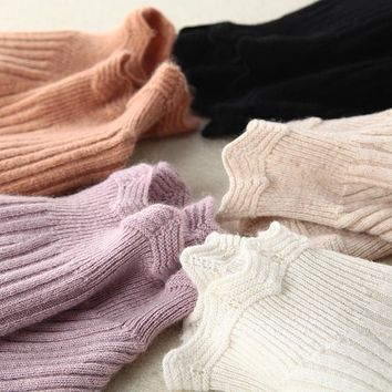 Autumn and winter new cashmere sweater women sweater sets long sleeves knitted sweater fashion