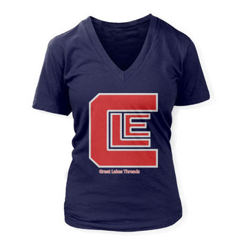 Nested CLE - Fastball - Women's Deep V