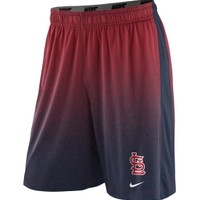 Nike Men's St. Louis Cardinals Dri-FIT Mezzotint Red Fly Performance Shorts