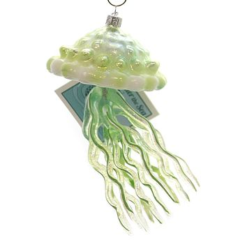 Noble Gems JELLYFISH Glass Under The Sea Ocean Nb1295 Green