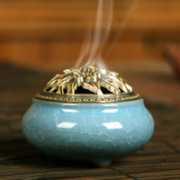 Elegant Incense Burner Coil Multiple Colors Home Decor For Aromatherapy