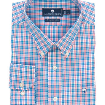 Southern Shirt Co - Harbor Plaid Cotton Club Shirt