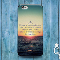 Cute Bible Quote Verse Case Cool Sunset Ocean Cover iPod iPhone 4 4s 5 5s 5c 6 +