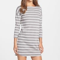 Women's BB Dakota 'Phillipa' Stripe Ponte Shift Dress,