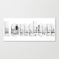 London Canvas Stretched Canvas by Karl Wilson Photography