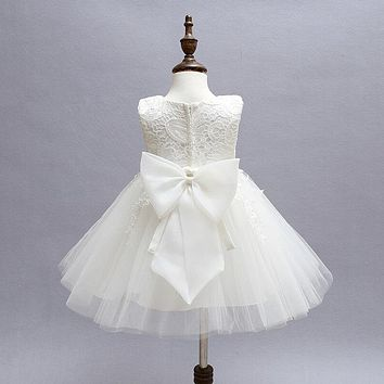 Newborn Baby Girls Dress Lace Christening Gown Baby Wedding Dresses Snow White Tutu Party Dresses For Girls Baby Frocks Designs