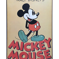 Disney Mickey Mouse Wood Wall Art