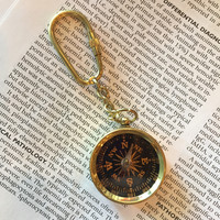 Mini Compass Keychain