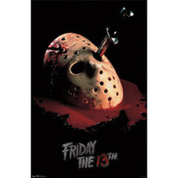 Friday The 13th - Domestic Poster