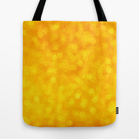 Blurry Golden Background Tote Bag by TilenHrovatic