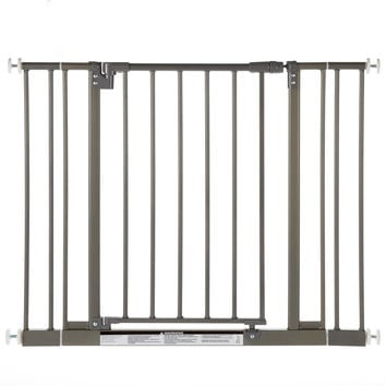 """North States Easy-Close Wall Mounted Steel Pet Gate Gray 28"""" - 38.5"""" x 29"""""""