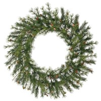 """60"""" Mixed Country Pine Artificial Christmas Wreath - Unlit"""