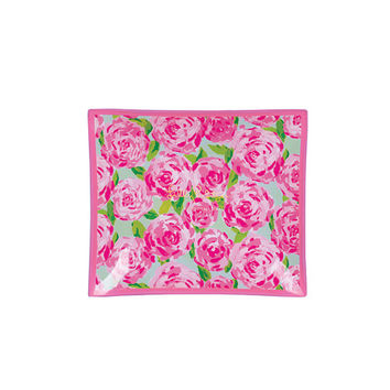 Lilly Pulitzer - Small Glass Catchall Tray, First Impression