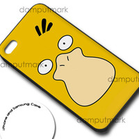 Psyduck Face Pokemon Cover for iphone 4/4s, iphone 5/5C, samsung galaxy s3, samsung galaxy s4, ipod 4, and ipod 5