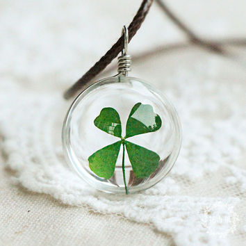 Jewelry Shiny Gift Stylish New Arrival Handcrafts Leaf Glass Sweater Pendant Necklace [6044402817]