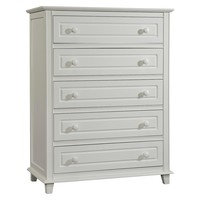 Stork Craft Destin 5 Drawer Dresser with Tufflink... : Target