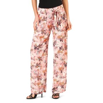 Annarita Pink Side Zip Pants