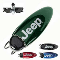 All Things Jeep - Visor Clip Sunglass Holder with Jeep logo