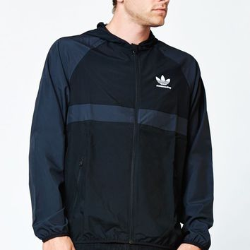 adidas Wind Jacket - Mens Jacket - Black