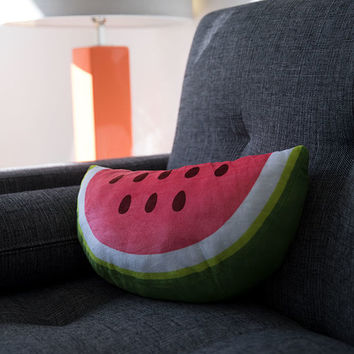 ANKIT Watermelon Slice Pillow