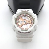 G-Shock Baby-G BA110-7A1 White / Gold