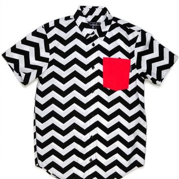 Disturbia Clothing - Black Lodge Shirt