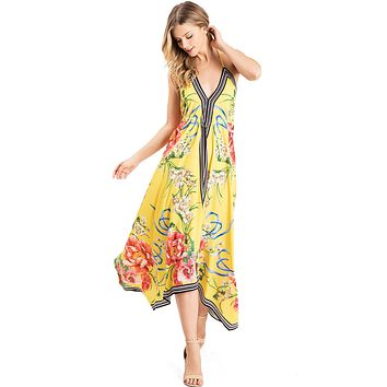 Sweet Bloom Midi Dress