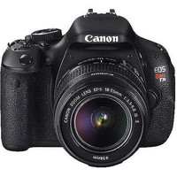 "Walmart: Canon EOS Rebel T3i Black 18MP DSLR Camera, EF-S 18-55mm 1:3.5-5.6 IS II Lens, 3.0"" LCD, EOS Full HD Movie Mode"