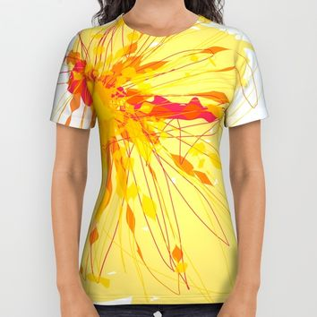 t_7 All Over Print Shirt by Kristina Kerstner