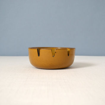 Heath Ceramics Mustard Yellow Ashtray