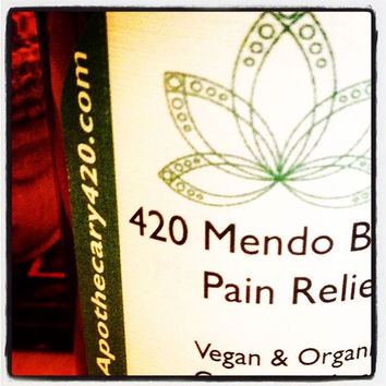 420 Mendo Blendo Cannabis Pain Relief Lotion 500 MG / Soothing Heat