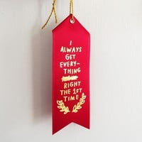 EVERYTHING RIGHT Ribbon