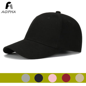 AGIPHA Cotton Dad Hat And Solid Baseball Cap Women Baseball Hats With Adjustable Buckle Mom Cap Mother's Day Gift