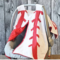 In Stock- Baseball Car Seat Cover