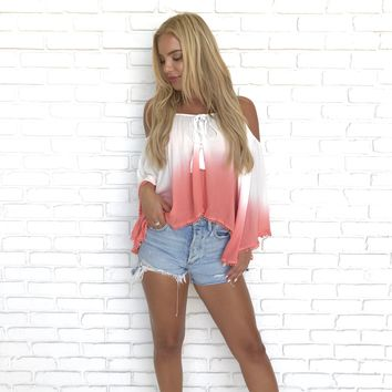 Havana Sunset Ombre Crop Top