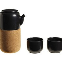 Nomu Tea Set – Ceramic Teapot and Cups Pay Homage to Japanese Craft