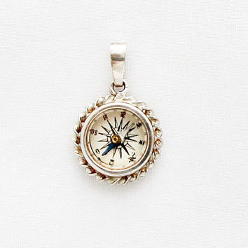 1920s German Compass Charm