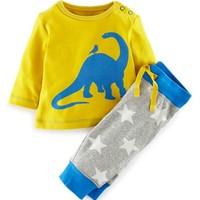 Infant Boy's Mini Boden Sweatshirt & Pants