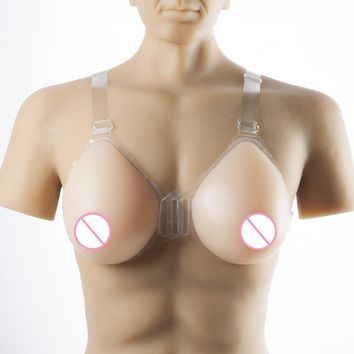 500-6000g/pair crossdresser false sexy breast mastectomy artificial silicone breast forms cd conjoined for man woman